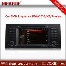 Car Multimedia player Support DVD/GPS Navi For 5 Series E39/X5 E53/M5 Original car interface Bluetooth/IPOD/Radio/ATV/SD USB