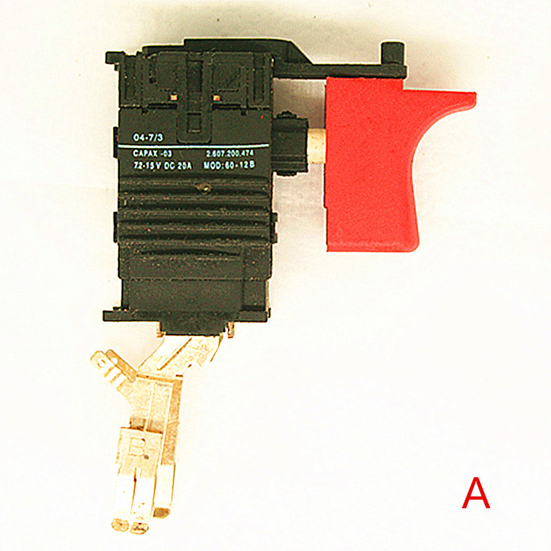 Speed Control Switch 2609199070 7.2V 9.6V 12V 14.4V 18V For BOSCH GSR7.2-2 GSR9.6-2 GSR12-2 GSR14.4-2 GSR7.2-1 GSR9.6-1 набор bosch ножовка gsa 18v 32 0 601 6a8 102 адаптер gaa 18v 24