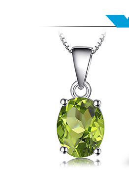 HTB1vSBHj43IL1JjSZPfq6ArUVXaj Natural Peridot Pendant Necklace 925 Sterling Silver Gemstones Choker Statement Necklace Women silver 925 Jewelry Without Chain