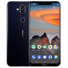 NOKIA X7 TA-1131 4 GB Оперативная память 64 Гб Встроенная память Snapdragon 710 2,2 GHz Octa Core 6,18 дюйма Экран двойной Камера Android 8,1 4G LTE смартфон