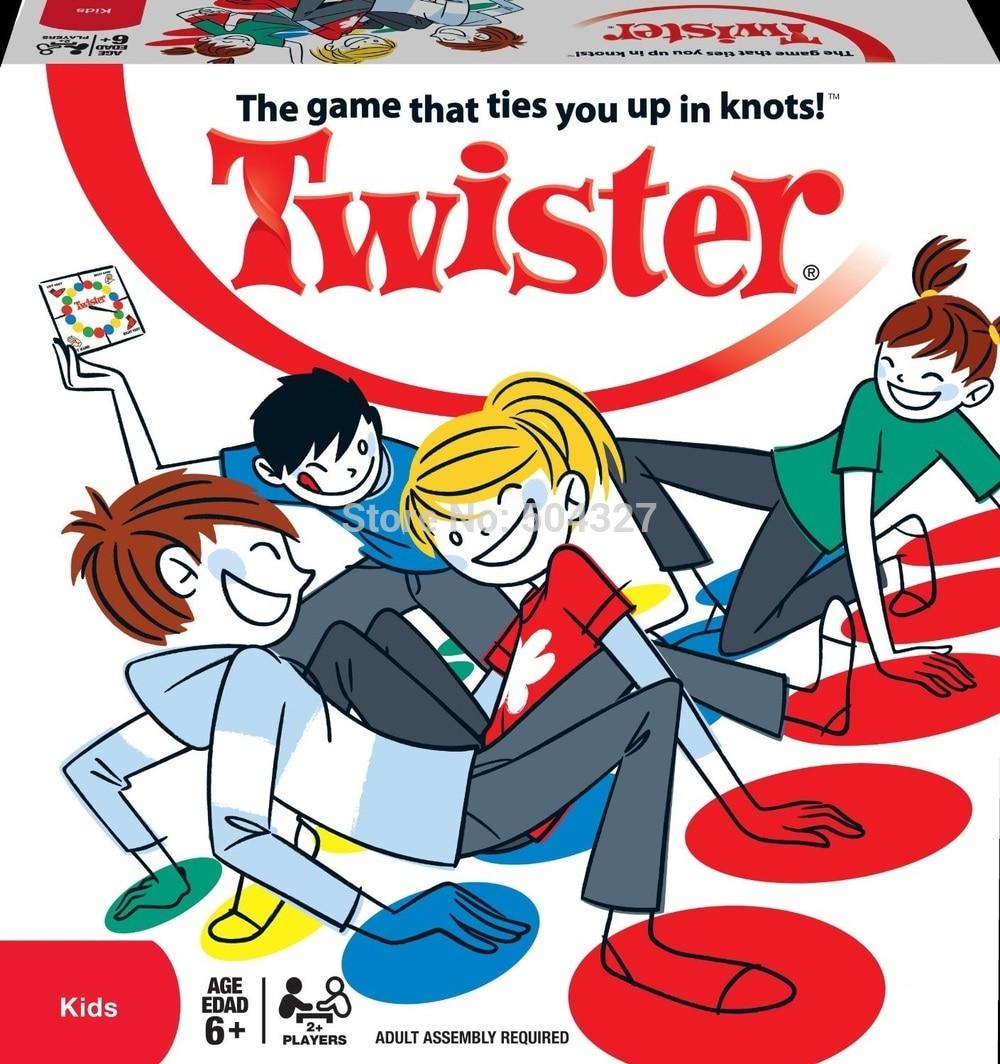 Νέο παιχνίδι σώμα Twister Μεγάλο μέγεθος 165x118cm Παιχνίδι Mat Party Games Υπαίθρια παιχνίδια Παιχνίδι με τα δάχτυλα Twister Board Game που σας συνδέει σε κόμπους