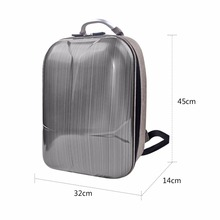 2017 Hard Shell Backpack Carrying Case for Waterproof Shockproof Carrying Bag Removing Backpack for DJI Spark Accessories