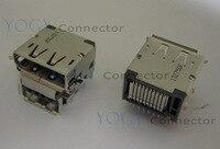 1pcs DisPlayPory 및 usb 더블 여성 커넥터 레노버 씽크 패드 t410 t420 시리즈 노트북 displayport 및 usb 소켓 포트에 적합