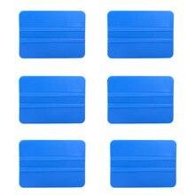 EHDIS 6 قطعة لفائف الياف الكربون التفاف لينة مكشطة بلاستيكية نافذة تينت ممسحة الزجاج سيارة تنظيف أداة الأنظف أدوات التلوين