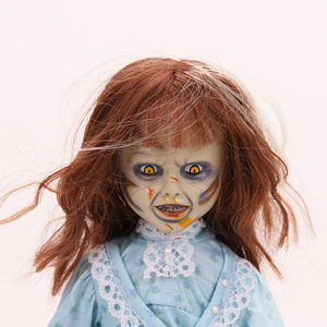 Image 2 - NECA Scary chucky Figure Toys Horror Movies Childs Play Bride of Chucky 1/10 Scale Horror Doll toy