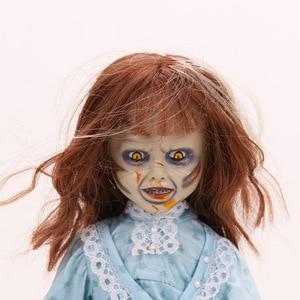 Image 2 - NECA Scary chucky Figuur Speelgoed Horror Films Kind Spelen Bruid van Chucky 1/10 Schaal Horror Pop speelgoed
