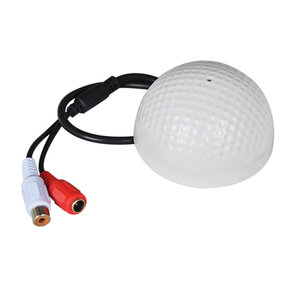 Image 4 - YiiSPO ميكروفون CCTV الأكثر مبيعًا على شكل جولف جهاز التقاط الصوت حساسية عالية DC12V جهاز مراقبة الصوت والاستماع