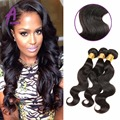 Peerless Brazilian Body Wave 3 Bundles 7A Unprocessed Virgin Brazilian Hair Weaves Mink Brazilian Virgin Hair Alimice Products