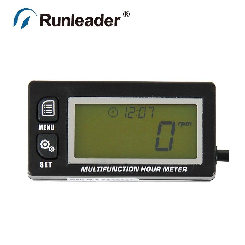Realistisch Rl-hm028a Ts001 Pt100-20 + 300 Inductieve Temperatuur Thermometer Toerenteller Urenteller Voor Truck Trailer Bouwvoertuigen