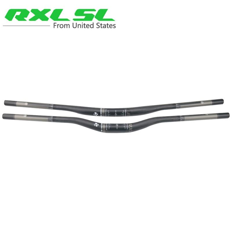 Guidon en carbone RXL SL vtt 760/780/800/820mm VTT guidon en carbone plat/Riser UD mat vtt guidon de vélo