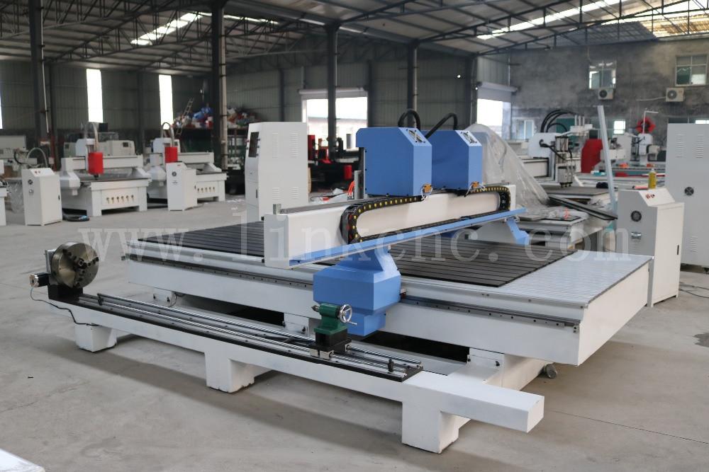 LXM1530 2 color Azul marco de trabajo pesado enrutador cnc para ...
