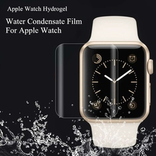Atacado 40 pçs/set TPU (Não De Vidro) Completa Capa Protetora Filme Para Filme de Tela Smartwatch Relógio Maçã Condensado Água protetor
