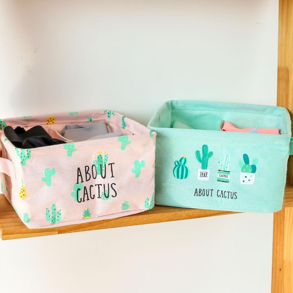 Underwear Bra Organizer Drawer Closet Organizers Boxes For Scarf Socks Storage Box Home Storage Folding Cosmetics Makeup Boxes