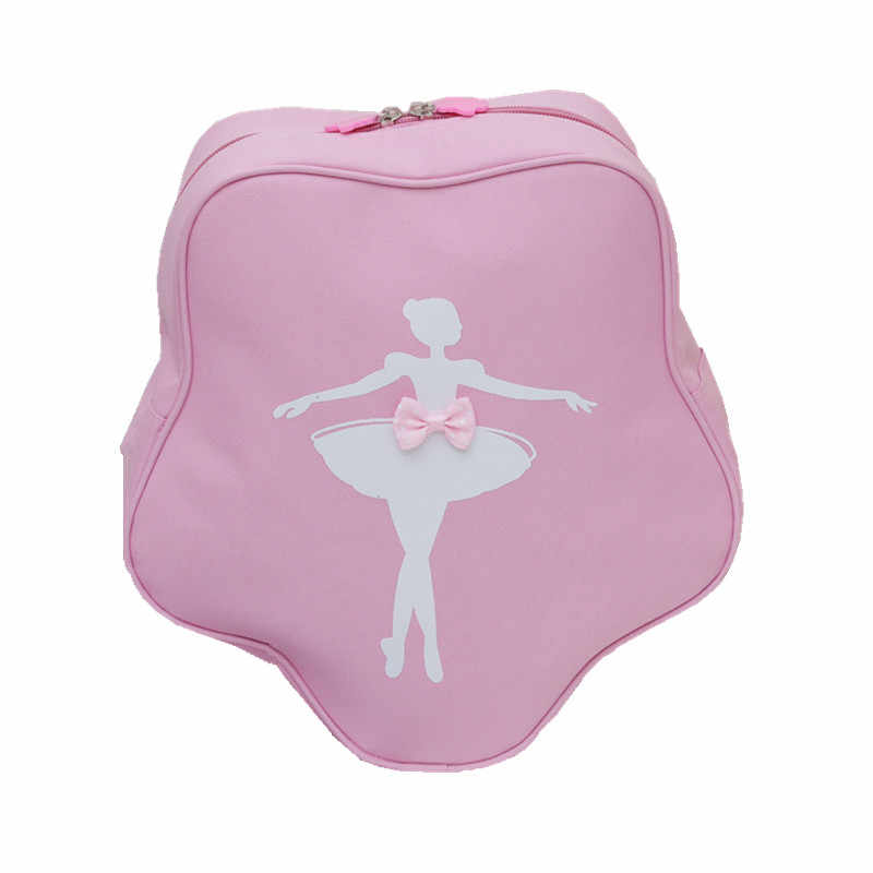 39a5f71bf39e Detail Feedback Questions about Pink Ballet Bags For Girls Printed ...