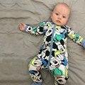 RP-091 2017 Estilo Del Resorte Del Otoño Del Bebé Mono Recién Nacido Ropa de Niñas de Algodón Lindo Mickey Minnie mameluco del Niño Recién Nacido Ropa de Bebes