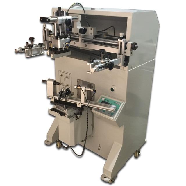 flat and cylinderical screen printer machine water bucket screen printing machine