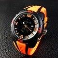 Обратно из нержавеющей Стали Водонепроницаемость Японии Movt Дешевые Противоударный Водонепроницаемый Спортивные Часы 30atm смотреть Военная g-shock-часы