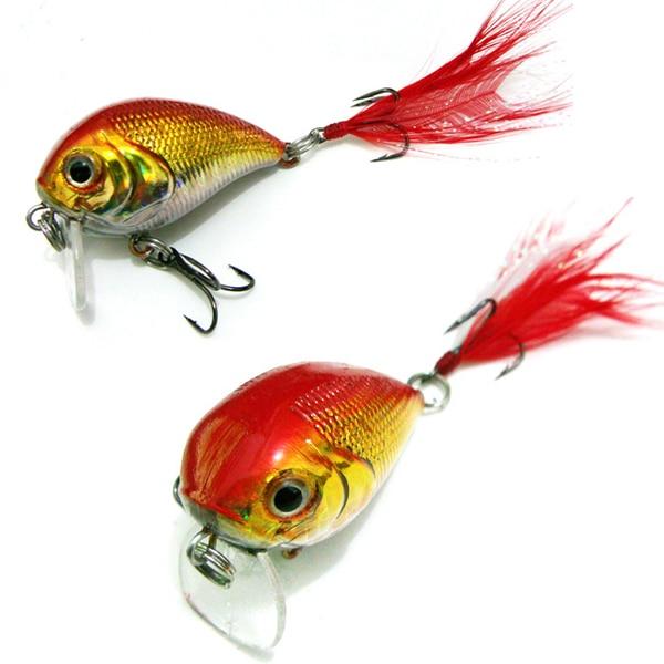 4cm/10g Minnow Pesca Fishing Lures Bass Crankbait Hooks Crank Bait Fishing Tackle V2 sinking fishing lures minnow crank bait crankbait tackle treble hook 5g 50mm 1pc