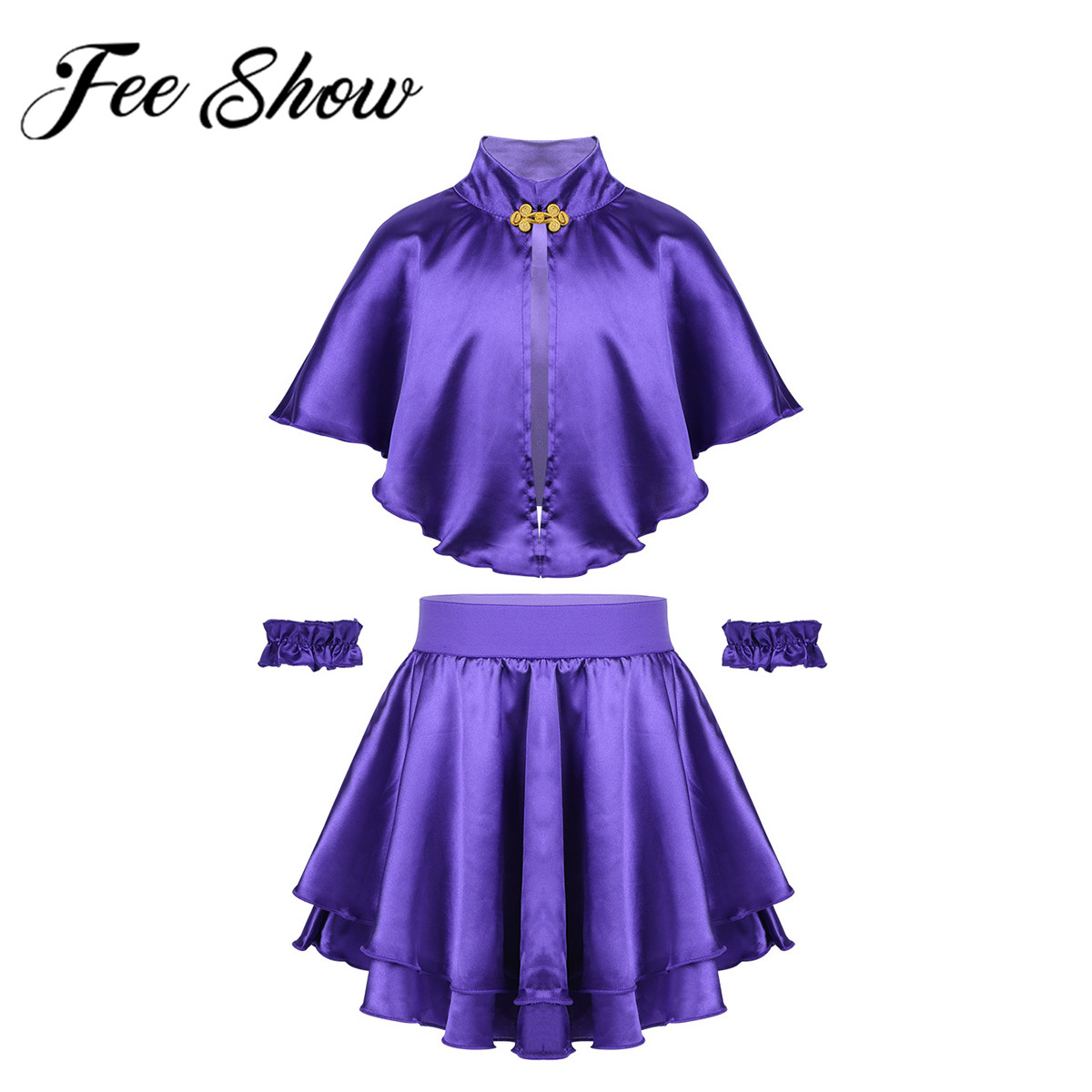 2019 Kid Girls Christmas Greatest Show Dress Up Halloween Dance Clothes Costume Outfits Fancy Cosplay Theater Musicals Party Set