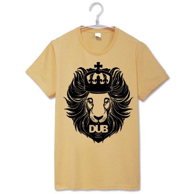 DUB природных rasta zen размер мужчины женщины старинные дизайн футболки