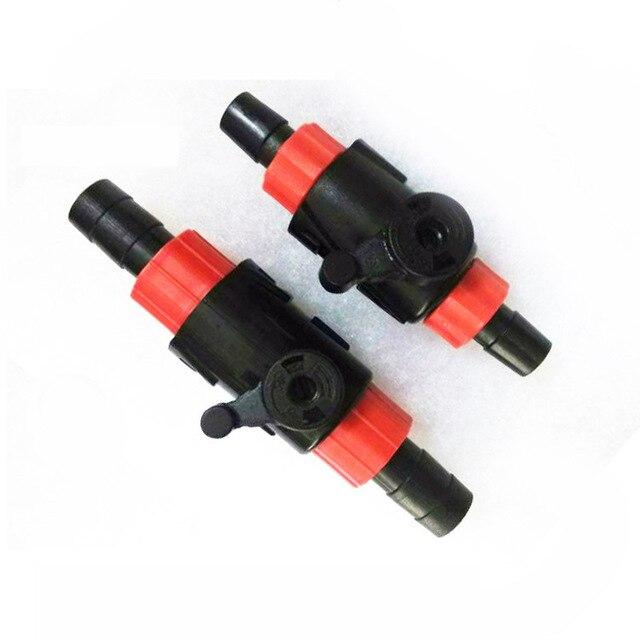 1pcs 12/16mm 16/22mm Plastic Flow Control Switch Aquarium Marine Fish Tank Throttle Valve Aquarium Accessories Water Hose AT016
