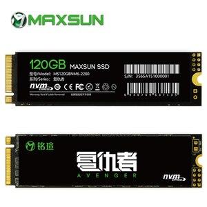 MAXSUN 2280 m2 ssd 120gb ssd m2 3D NAND Flash SMI 2263XT PCIe Gen3 X 4 m.2 nvme ssd 1500MB/s three year warranty laptop desktop