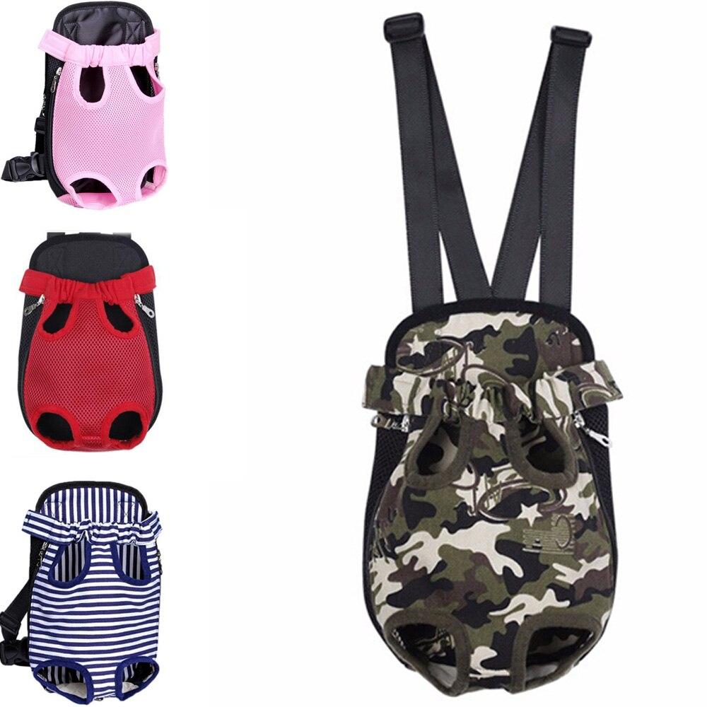 Mochila Portador do cão Malha Leve Camuflagem Colorida Produtos de Viagem Sacos de Ombro Respirável para Cães Pequenos Gatos Chihuahua