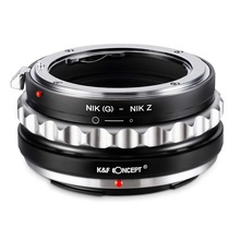 K&F Concept Lens Mount Adapter for Nikon G AF-S Mount Lens to Nikon Z6 Z7 Camera все цены