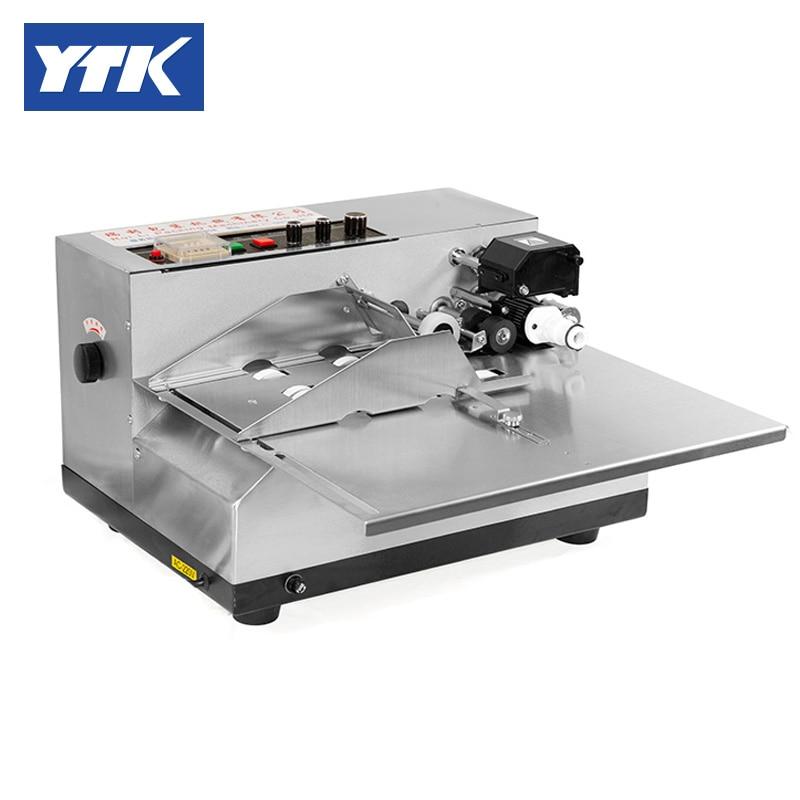 YTK (Wide Type Stainless Steel) MY-380F Ink Coding Machine Ink Marking Machine Production Date Coding Machine