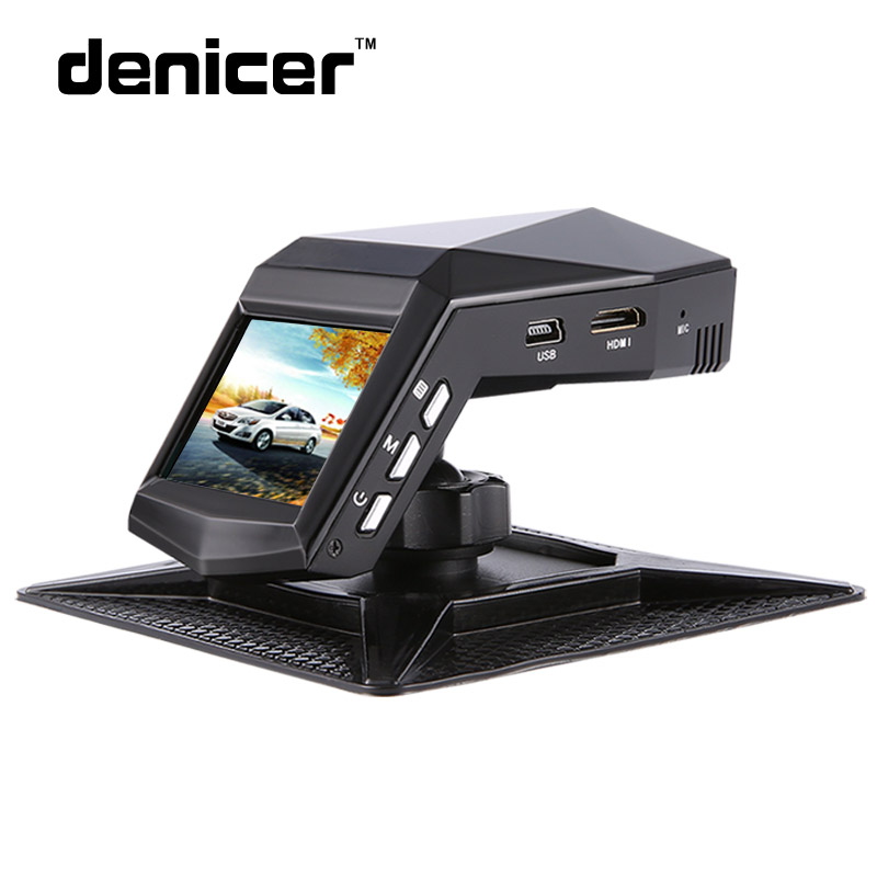 Denicer Car Camera Full HD 1080P Car Video Recorder Perfume DVR 170 Degree Wide Angle With Night Vision Auto Vehicle Dash Camera цена