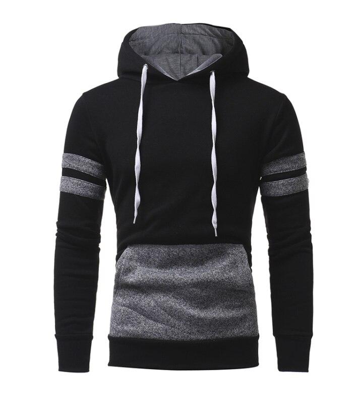 JohnS Bakery Brand 2018 Hoodies Brand Men Patch Design Sweatshirt Male Hoody Hip Hop Autumn Winter Zipper Hoodie Mens Pullover