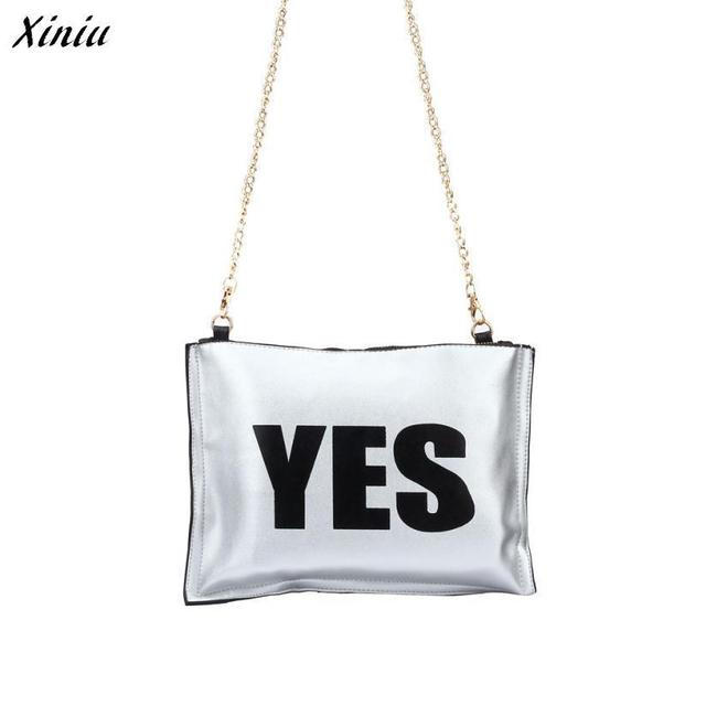 Women Leather Handbags Stylish Both Sides Used Letter Messenger Bags Borse Da Donna Marche Famose