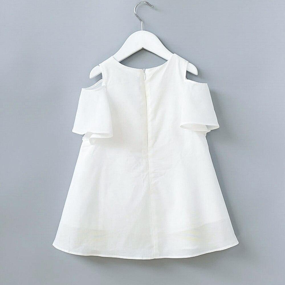 fe169a985ec Babyinstar 2018 New Children Summer Tassel Design Kids Dress Cotton Casual  Short Sleeve Striped Off Shoulder