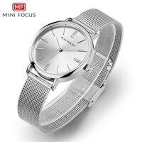 MINI FOCUS Mode Quartz Horloge Vrouwen Horloges Dames Meisjes Beroemde Merk Polshorloge Vrouwelijke Klok Montre Femme Relogio MF0036L. 02