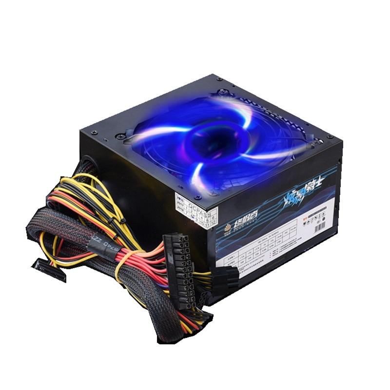 500 W adaptateur alimentation pour ordinateur PSU pour PC gaming source électrique de la machine sata alimentation pour carte graphique rx 470