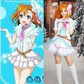 Lovelive! Love Live Snow Halation Kousaka Honoka Uniform Dress Outfit Cosplay Costumes