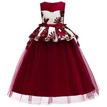 Niñas Vestidos 14 Comunión Niña Niños Para Encaje Fiesta Años De Nuevo  Appliqued Primera 3 Las Flores CaCPSqrw a611c68d3e4