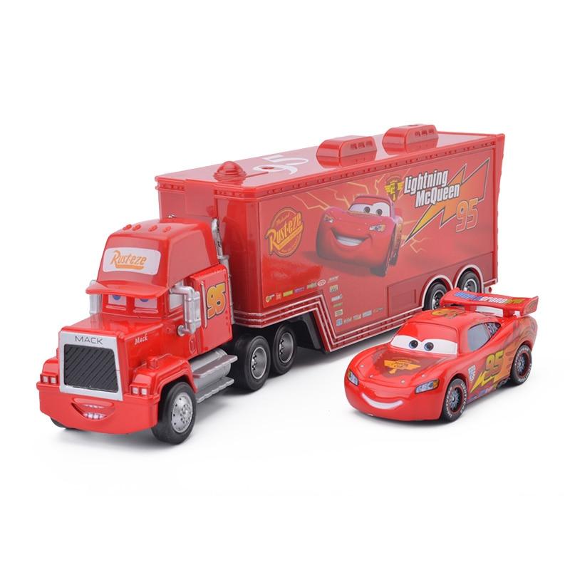 Lightning Mcqueen Mack Truck : Disney pixar cars no mack truck small car lightning