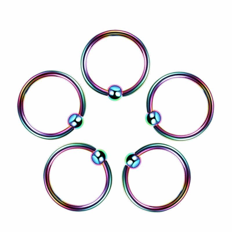 1 шт. пирсинг защелка соски для губ бровей нос кольцо Rook Ушная перегородка спираль для пирсинга ушной раковины