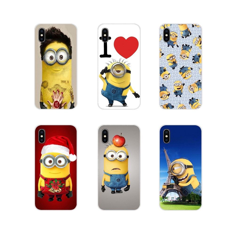 Accessories Phone Shell Covers Despicable me minions For Samsung Galaxy A3 A5 A7 A9 A8 Star A6 Plus 2018 2015 2016 2017