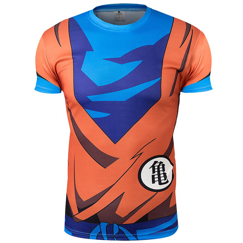 c202be8b08 Dragon Ball anime bola camiseta hombres mujeres Armaduras 3D camiseta  impresa camisa de compresión Tops aptitud camiseta DBZ camisa en Camisetas  de La ropa ...