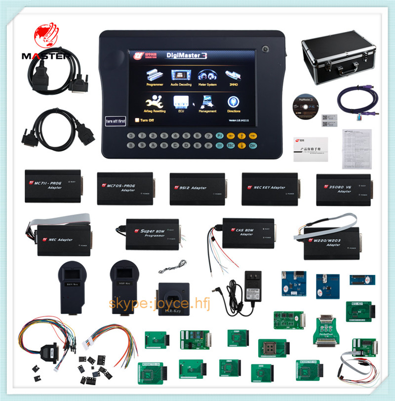 US $1250 0 |ECU programming Universal Odometer Correct Tool Digimaster iii  Master 3 Scanner Tool Original Guarantee-in Car Diagnostic Cables &