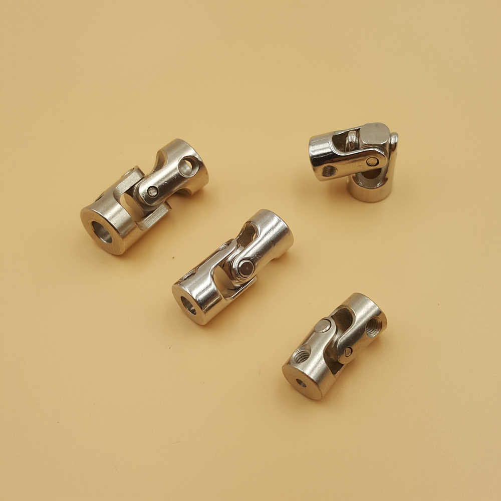 Metal Universal Joint Couplings Steering Gear Joint Multi Specification Connector Model DIY Motor Shaft Fitting Accessory