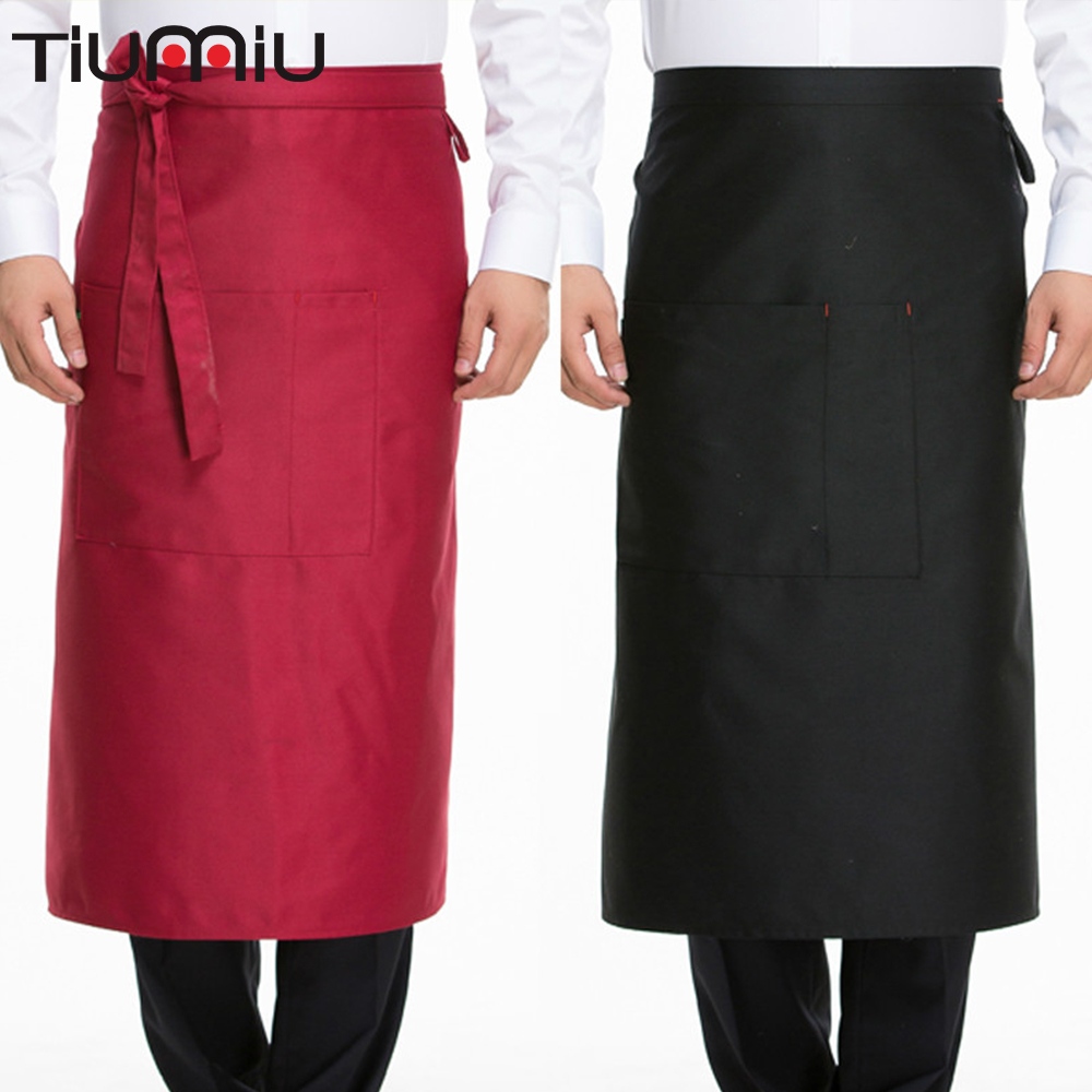Chef Uniform Apron Professional Reataurant Dining Hall Water Dirt Resistant Wholesale Factory Dropshopping Catering Food Service