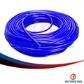 PQY STORE- Universal SAM Style 50M Super Vacuum Silicone Hose -  ID: 3mm OD:7MM -  Blue ,100% Silicone material PQY- VSL3MM
