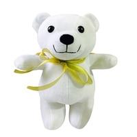 Plush White Bear With Golden Wings Lovely Stuffed Animal Teddy Bear 30CM HEAD TO TOE GIFT