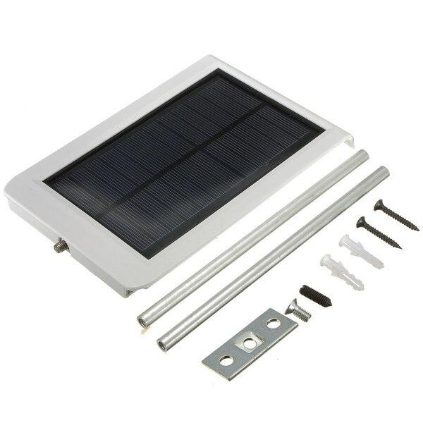 Solar Powered Panel 15 LED Street Light Solar Sensor Lighting Outdoor  waterproof Path Wall Emergency Lamp Security Spot Light