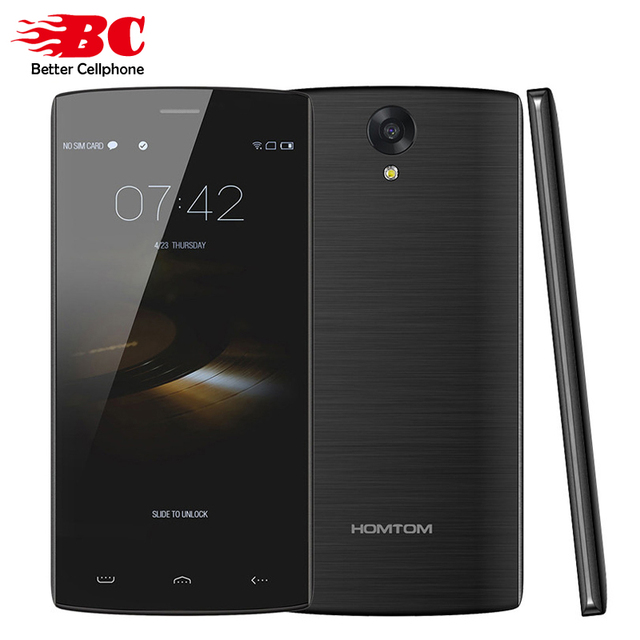 "In Stock Original HOMTOM HT7 PRO 4G 5.5"" HD 1280*720 Smartphone Android 5.1 Quad core MTK6735 2GB RAM+16GB ROM 8MP+3MP 3000mAh"