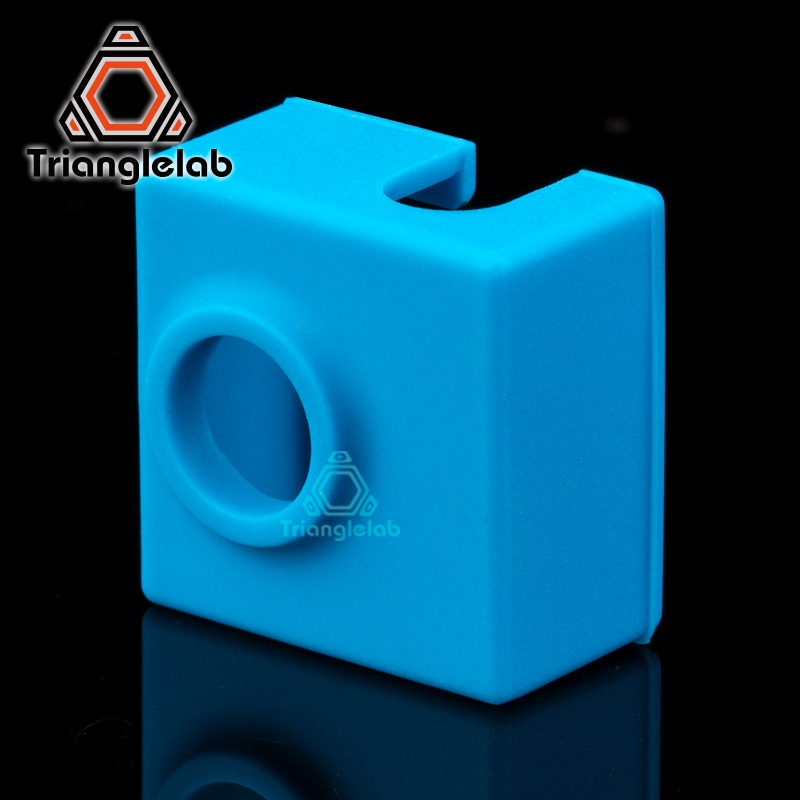 Trianglelab Cartridge Heater Bock Silicone Socks MK8/ MK9/CR10 HEAT BLOCK Socks For ENDER 3 CR10 MK8 MK9 HOTEND 3D Printer Parts