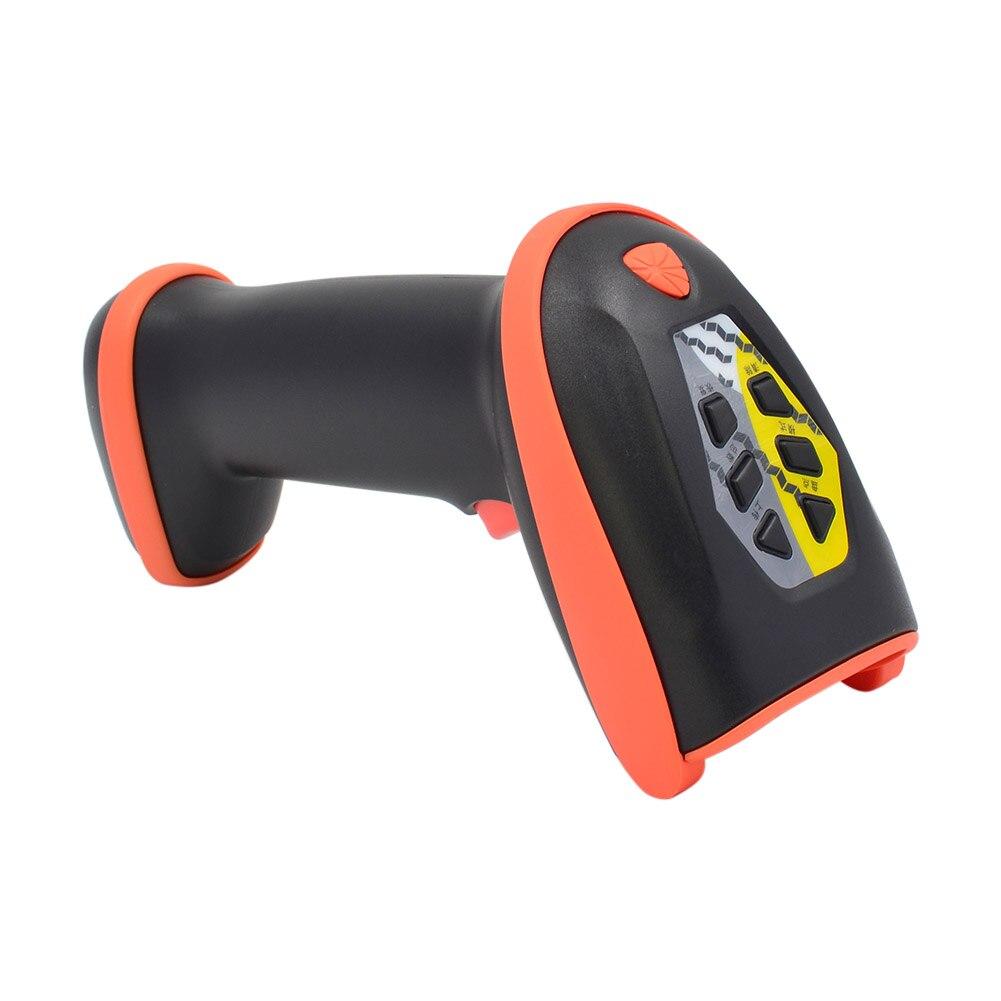 Bar Code Scanner De Poche Bluetooth Sans Fil lecteur de code-barres USB Filaire Rechargeable 32-peu Décodeur LCC77